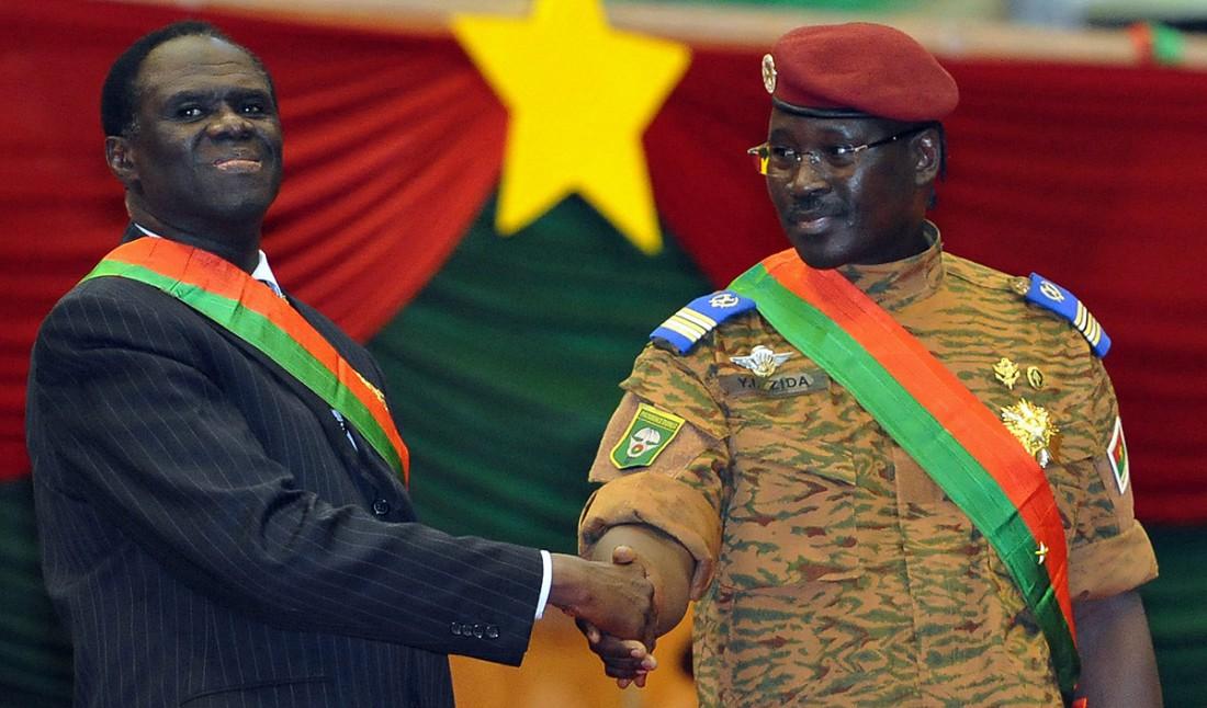 Burkina: Michel Kafando , «voici pourquoi j'ai nommé Zida Général»
