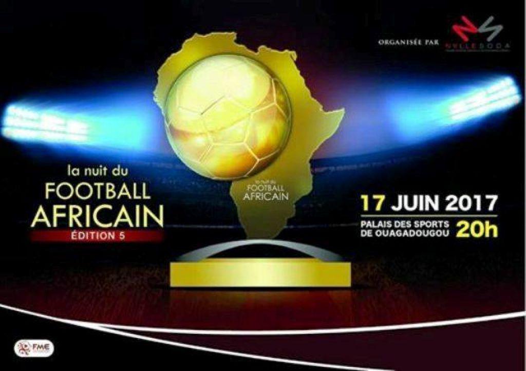 Nuit du football africain: Ouagadougou attend sa pluie de stars