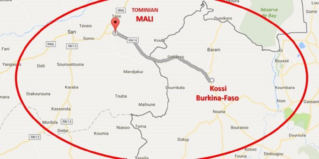 Kossi: des présumés terroristes ouvrent le feu sur des policiers.