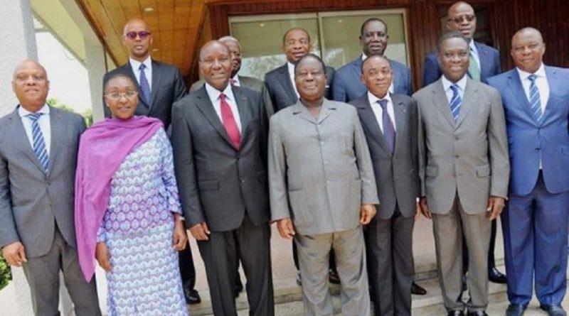 Côte d'ivoire: juste avan le remaniement ministériel, ils ont fait allégeance à Allassane Ouattara