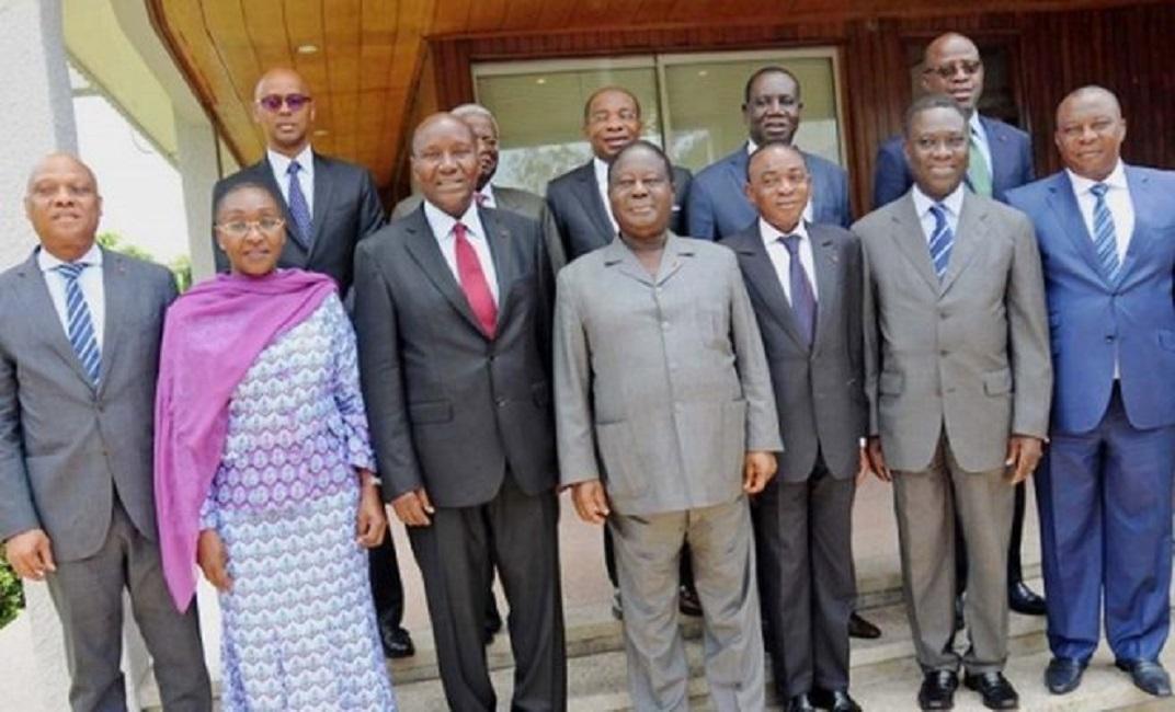 Côte d'ivoire: juste avant le remaniement ministériel, ils ont fait allégeance à Allassane Ouattara
