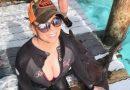 Mariah Carey plonge avec les requins