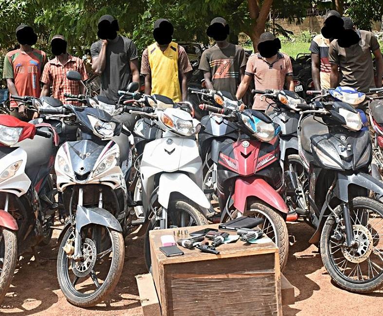 Un gang spécialisé dans les braquages à mains armés démantelé