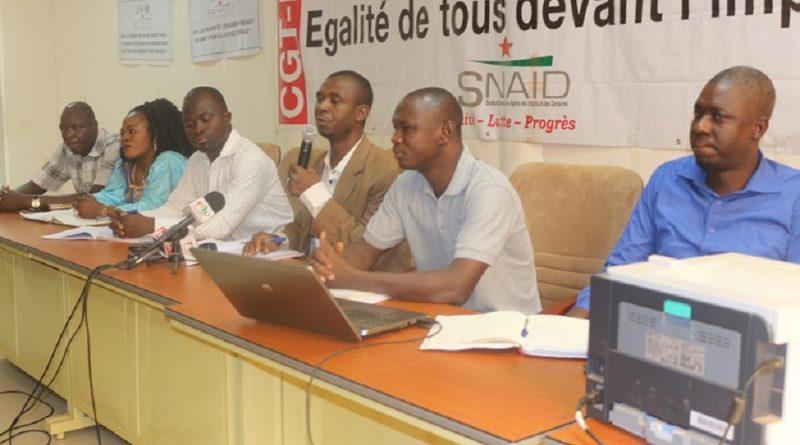 Trésors Publique: Deux syndicats dénoncent les agissements du gouvernement