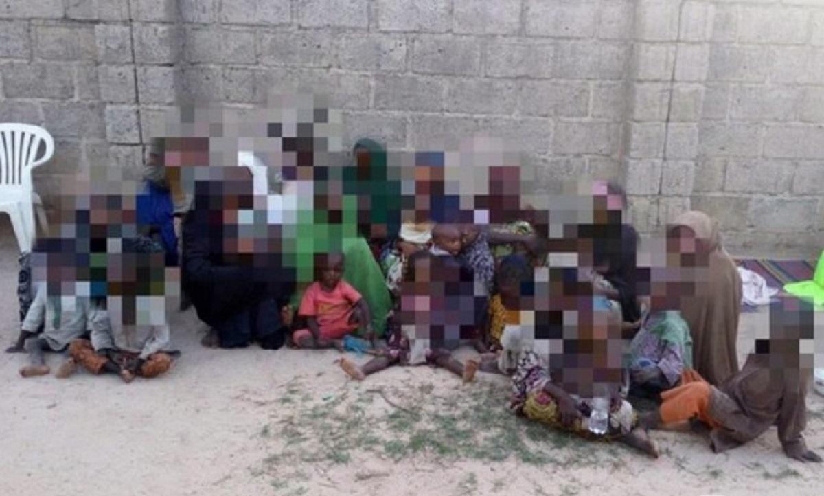 Nigeria: Des femmes et enfants des combattants de Boko Haram interceptés à Yobe