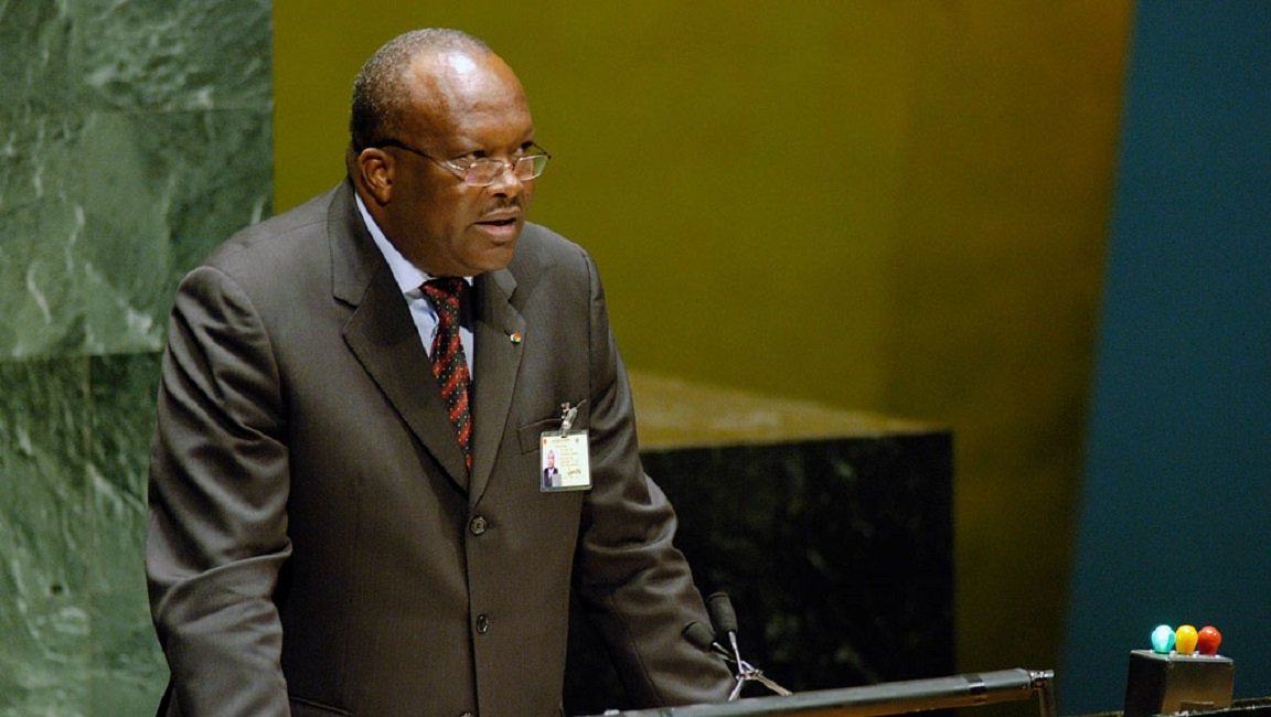 Attaque du Café Istanbul: le message du Président du Faso