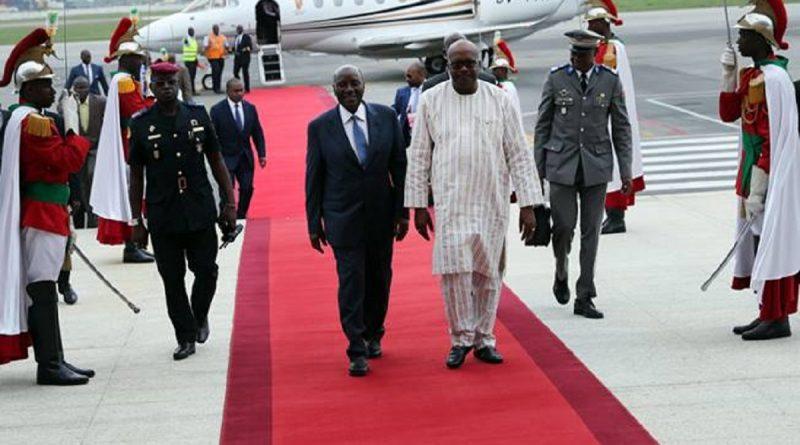 8 èmes jeux de la Francophonie : Le Président du Faso est arrivé à Abidjan