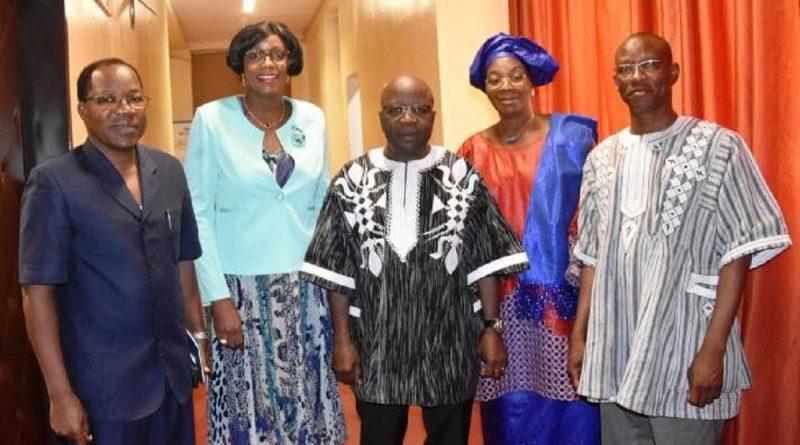 Burkina: Quatre nouveaux ambassadeurs chez Simon Compaoré