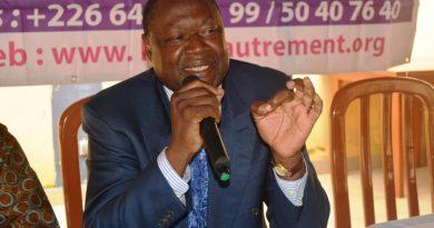 Politique: Ablassé Ouedraogo présente ses excuses