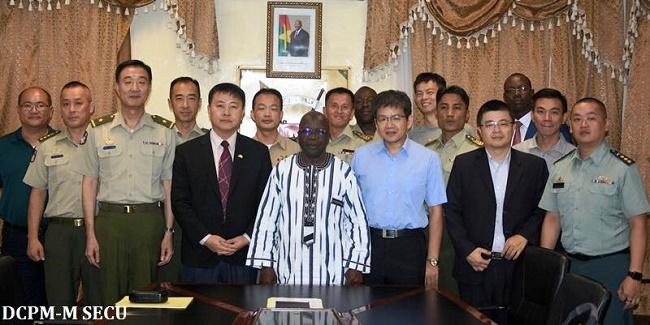 Sécurité: Une délégation militaire Taïwanaise reçue par Simon Compaoré