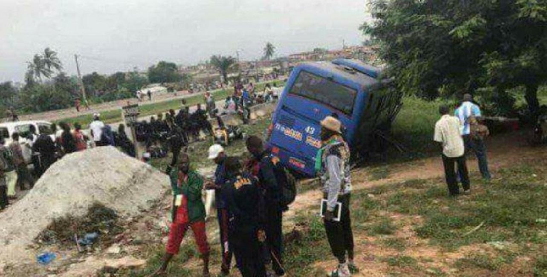 Côte d'Ivoire-Mali: Elibou, le car transportant les footballeurs maliens fait un accident, après les jeux de la francophonie