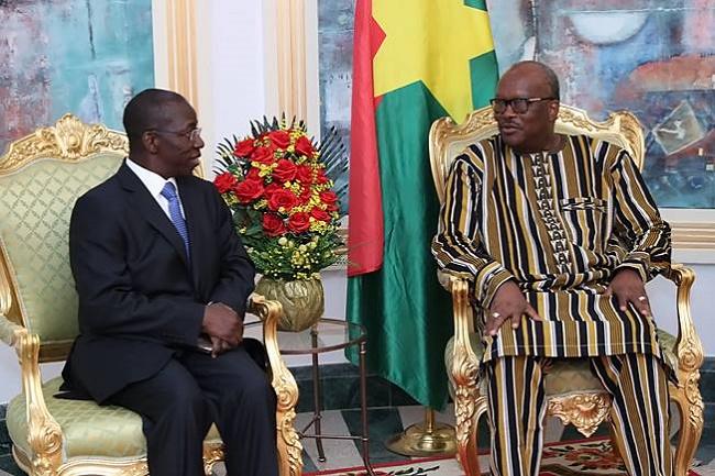Election du vice-Secrétaire général de l'UIT : Roch soutient la candidature du Burkinabè Brahima SANOU