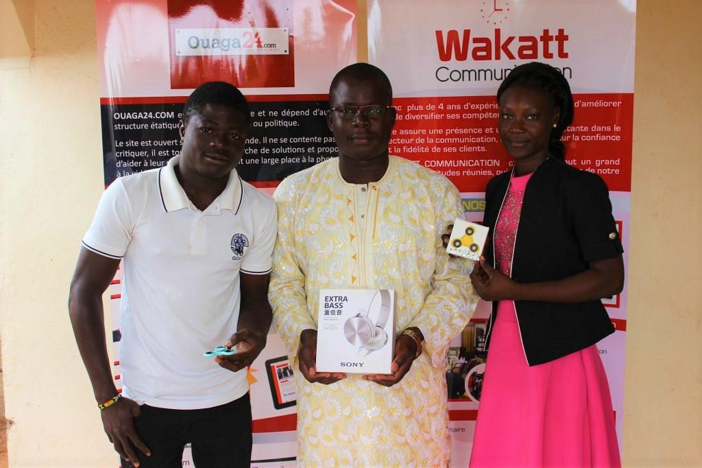 Jeu concours Wakatt communication: Les lauréats primés