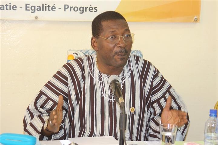 Politique: Allassane Sakandé nouveau président de l'assemblée Nationale