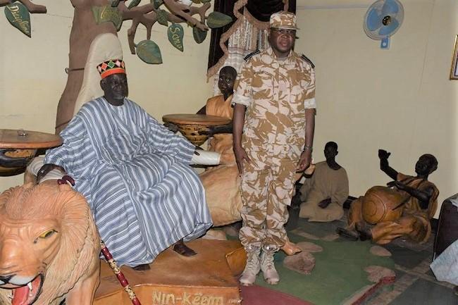 Burkina: La Police Nationale chez le Mogho Naaba