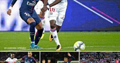 PSG-Lyon: 80% de réussite pour Bertrand TRAORE face au club de Neymar