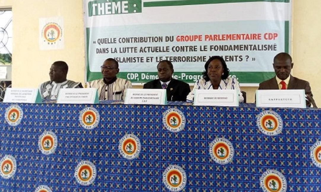 Lutte contre le terrorisme : Voici les recommandations du partit de Blaise Compaoré