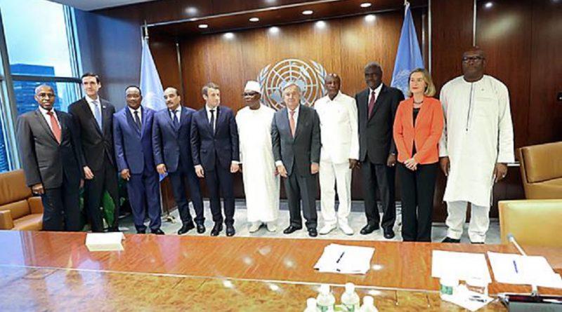 Réunion de haut niveau du G5 Sahel à New York