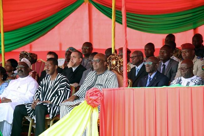 Grande chancellerie des Ordres burkinabè : Le Président du Faso inaugure le nouveau siège