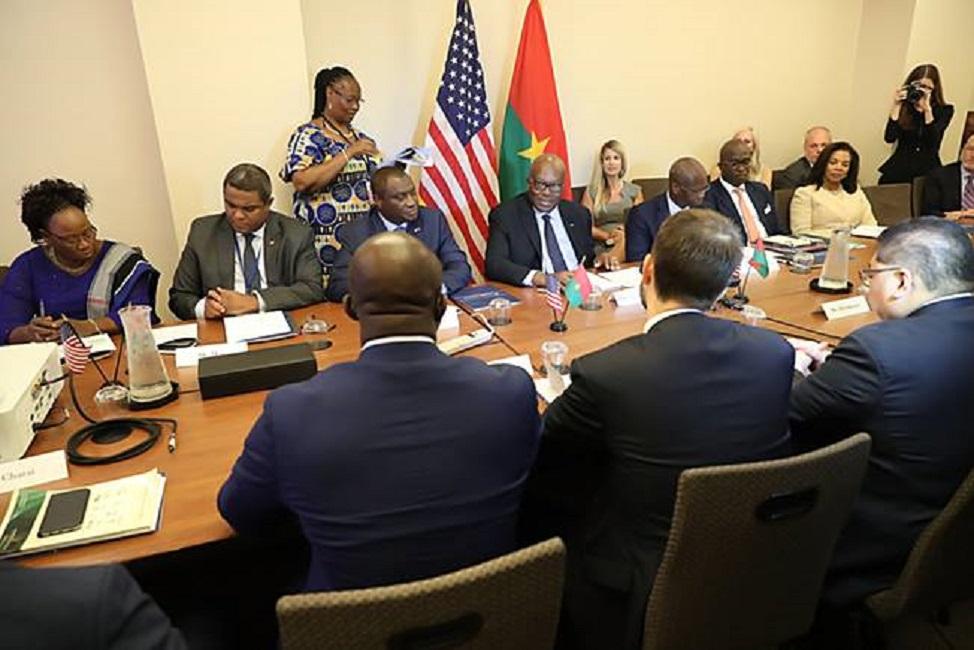 USA: Roch Kaboré séduit les investisseurs Americain
