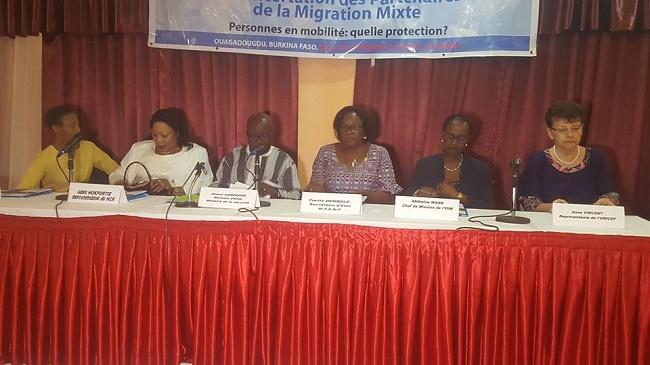 Migration Mixte: «L'une des composantes, les apatrides et réfugiés» Simon COMPAORE