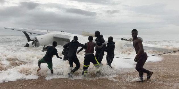 Côte d'Ivoire: Un avion s'écrase au large d'Abidjan et fait 4 morts
