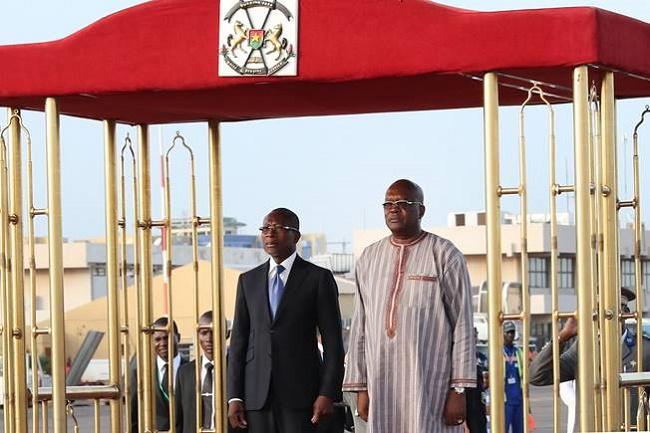 Burkina-Bénin : Le Président Patrice TALON en visite d'amitié et de travail de 48 heures au Burkina