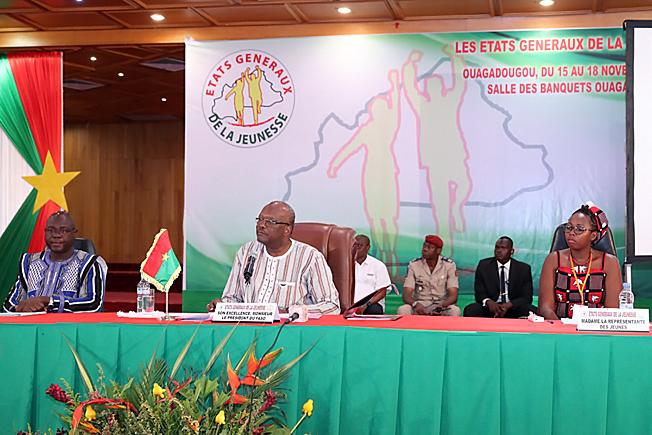 Etats généraux de la jeunesse : Roch appelle les jeunes à s'orienter vers des secteurs porteurs