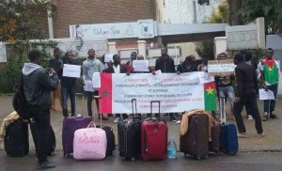 Les étudiants burkinabè boursiers en France  crient « A l'aide ! »