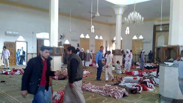 Egypte: Plus de 200 morts dans l'attaque d'une mosquée