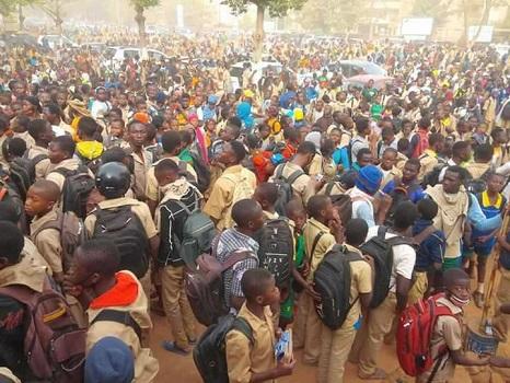 Grogne des Elèves et Scolaires de Ouagadougou, voici La lettre adressée au ministre de l' éducation