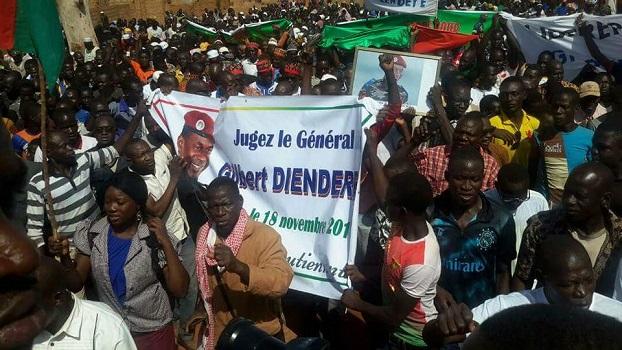 Sécurité: Marche meeting à Yako pour demander le justice pour le Général Gilbert Diendéré