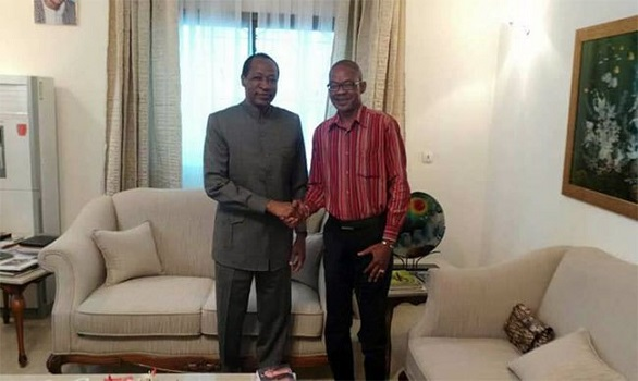 Politique: Nana Thibault reçu de nouveau par Blaise Compaoré