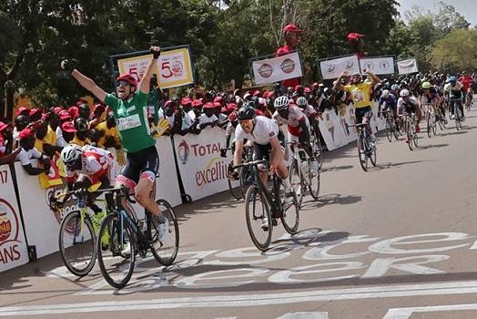 Tour du Faso 2017: le Marocain Sallahedine MRAOUNI sur la plus haute marche
