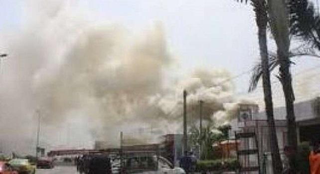 Côte d'Ivoire: le grand marché de Yamoussoukro est parti en flamme