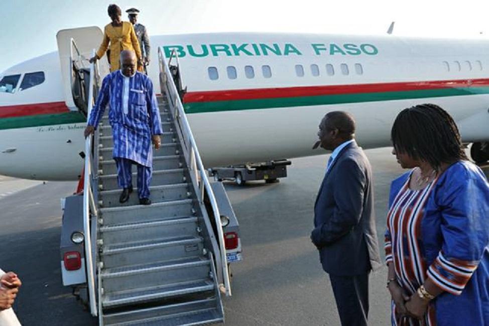 Le président du Faso à Bruxelles