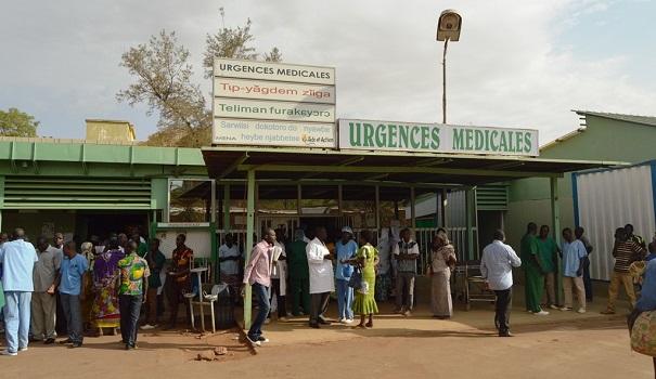 Société: Les  travailleurs de l'hôpital Yalgado demande des meilleurs condition de travail.