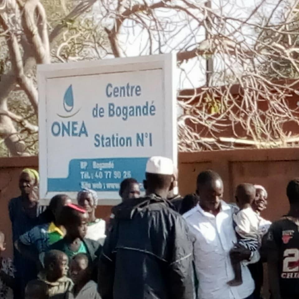 Bogandé : le blocus de la station de pompage d'eau levé