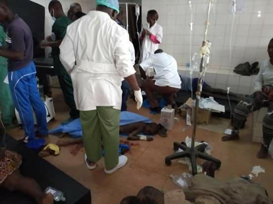 Tenkodogo: un accident fait deux morts et 10 blessés