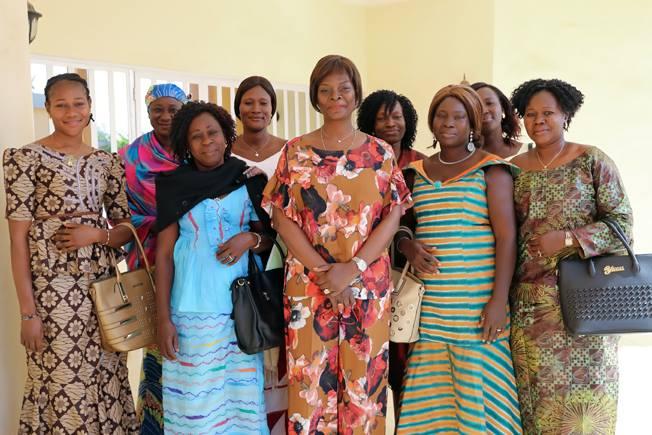 L'Amicale des Femmes de gendarmes reçue en audience par l'épouse du chef de l'Etat