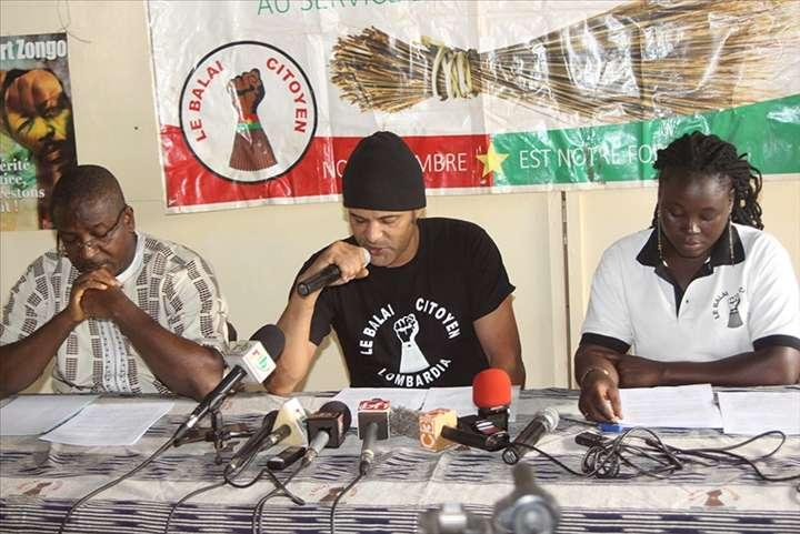 Burkina: «notre pays est marqué par une crise de gouvernance sur le plan social» Balai citoyen