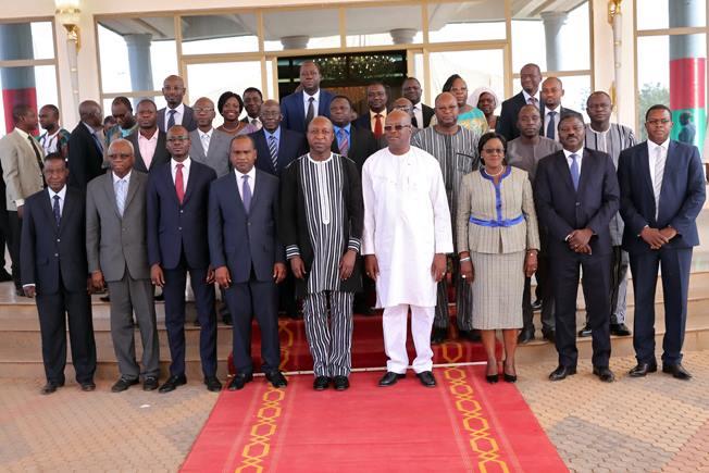 Le Corps diplomatique présente ses vœux de nouvel an au Président du Faso