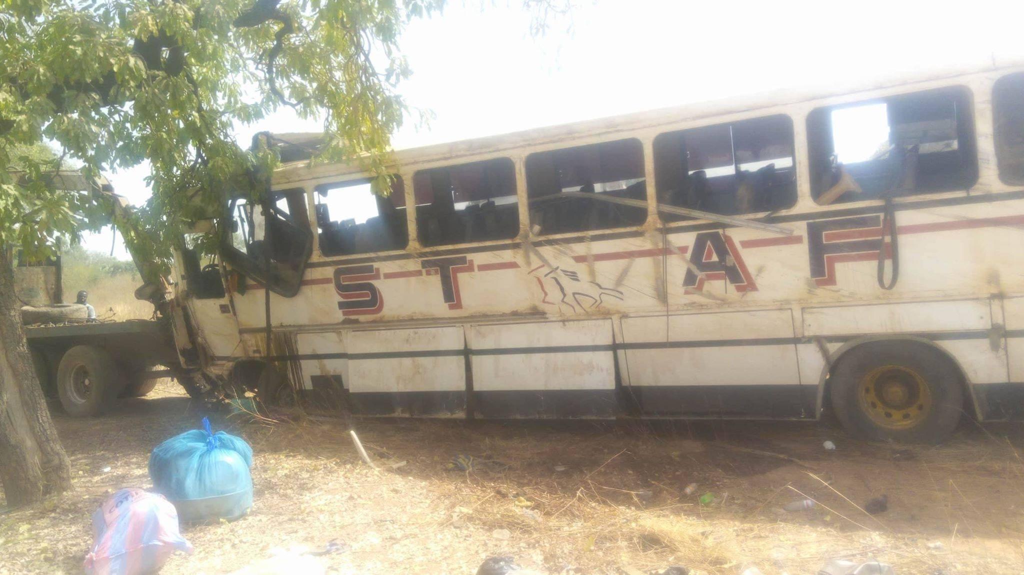 STAFF: deux morts et 18 blessés dans un accident de la circulation à Sakoinsé