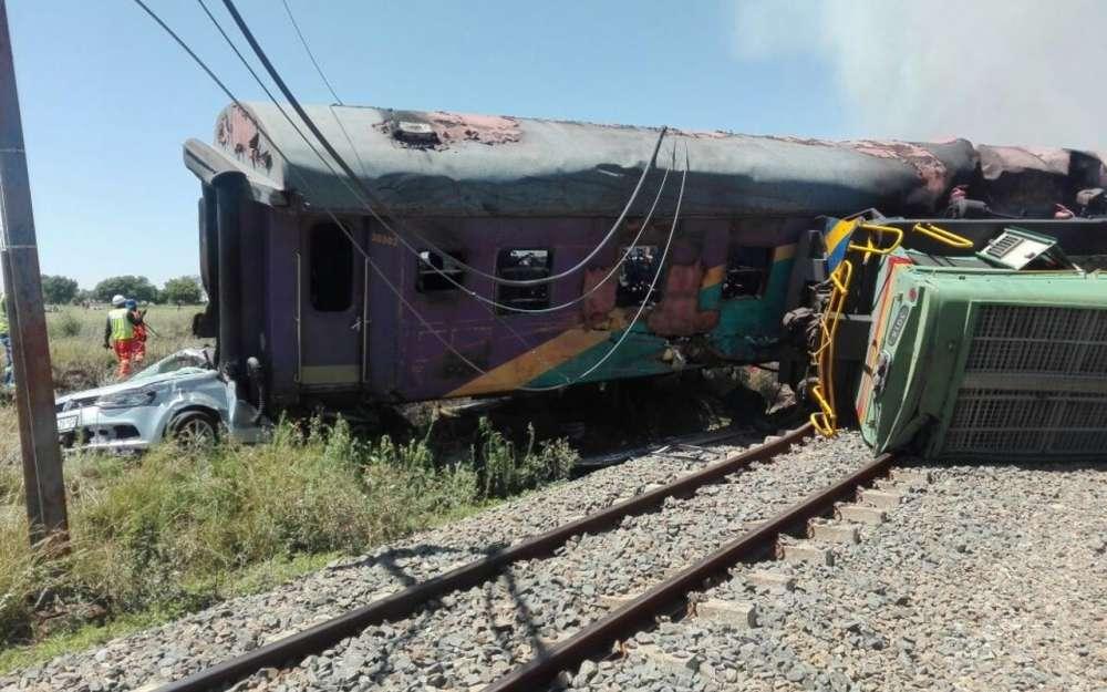 Afrique du Sud : accident de train meurtrier dans le centre du pays