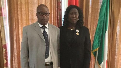 Ambassade du Burkina Faso en Italie : Remise de distinctions honorifiques