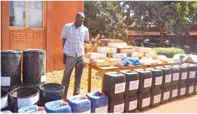 Bobo-Dioulasso : Un trafiquant d'explosifs épinglé