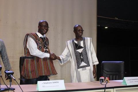 """Passation de Service au MCAT: """"Il y avait des malentendus entre Laurent Bado et moi """" Issouf Sawadogo"""