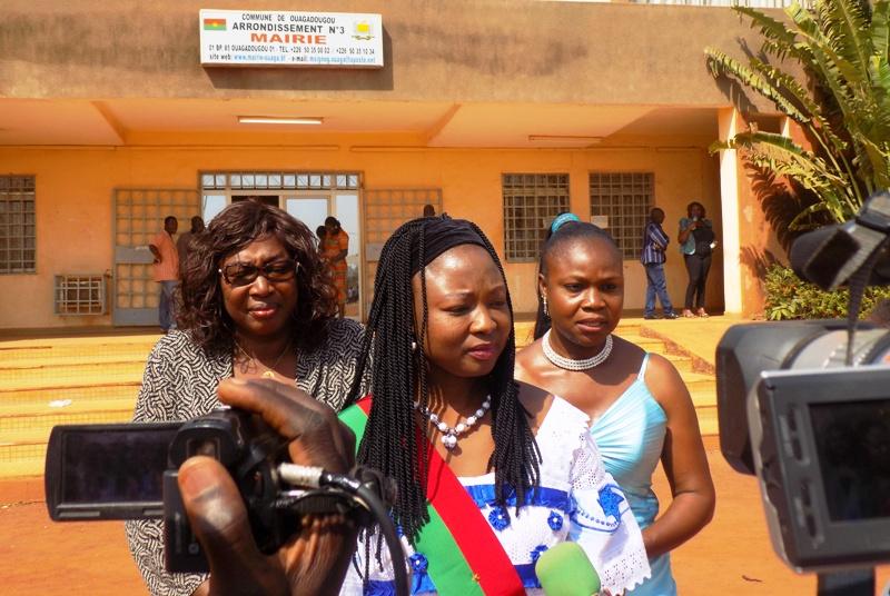 Crise à l'Arrondissement 3 de Ouagadougou: « Le fond du litige est toujours pendant devant le tribunal  » assure le Maire Rainatou Ouédraogo