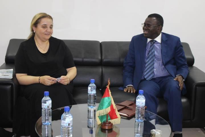 Burkina: Le Ministre des transports reçoit une délégation marocaine