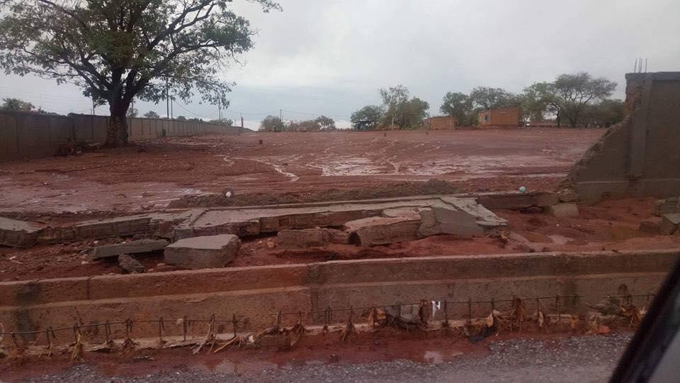 Gaoua: les infrastructure du 11 Décembre endommagés par une pluie